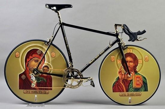 Ikonok egy biciklin