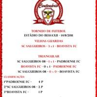 A Padroense nyerte a Salgueiros centenáriumi tornáját