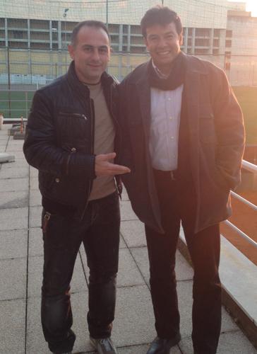 Erwin Sánchez (jobbra) visszatért régi sikerei helyszínére