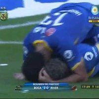 Palermo gólt fejelt utolsó Clásicóján