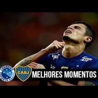 Cruzeiro - Boca 1:1, a dzsenovaiak a kupa elődöntőjében!