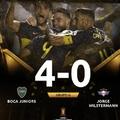 Copa Libertadores: Boca - Wilstermann 4:0