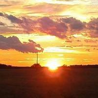 Buff egy naplemente