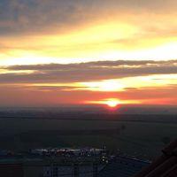 Reggeli kilátás a tetőablakból II.