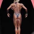 Így nézett ki Toldi Zsuzsi a Mr. Olympia 2014-en