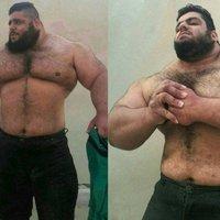 Perzsa Hulk: 175 kg és nem lesz Marvel szuperhős