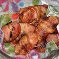 Aszaltszilvás pulykamell bacon szalonnával