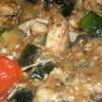 Csirkemell wokban zöldségekkel
