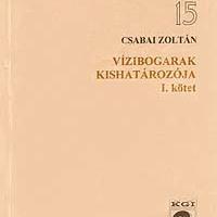 Csabai Zoltán: Vízibogarak kishatározója, I. kötet.