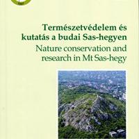 Kézdy Pál és Tóth Zoltán: Természetvédelem és kutatás a budai Sas-hegyen.