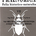 Nagy Ferenc, Szél Győző és Vig Károly: Vas megye futóbogár-faunája (Coleoptera: Carabidae).