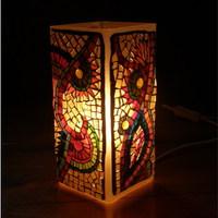 Négyszögletes lámpa