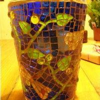 Pillangós-növényes váza