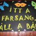 Egyszerű farsangi dekoráció készítés olcsón