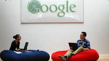 A Google-nél a dolgozók kényelme is fontos