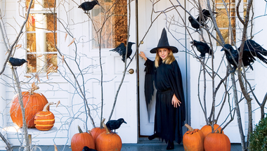 Egyszerű kültéri dekorációs ötletek Halloweenre