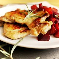 Vasalt csirkecombfilé (sült és omlós)