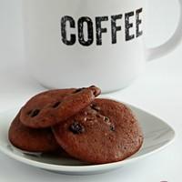 Csokoládés – áfonyás kekszek