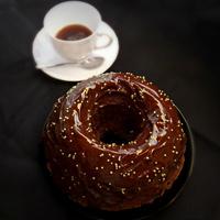 Csokoládés kávés kuglóf