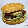 Házi hamburger pogácsa