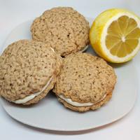 Rusztikus keksz, frissítő citromkrémmel
