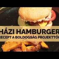 Házi hamburger recept a Boldogság Projekttől