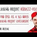 #5 Hogyan épül fel a 365 napos Boldogság Projekt levélsorozat [Boldogság Projekt TV Kérdezz-felelek]