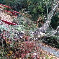 Brutális vihar csapott le a környékünkre