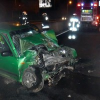 Karambol történt éjjel az M1-M7 közös szakaszán, a sofőrök megúszták