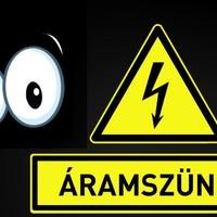 Holnaptól csütörtökig áramszünetre készüljenek, mutatjuk melyik utcákban nem lesz áram egy ideig!