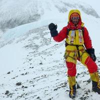 Hatalmas lelkierővel fordult visssza Klein Dávid az expedíció végén