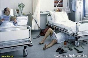 A legsúlyosabb abszurd: a kórházi vezetőknek heti két jó hírt kell küldeniük a kormánynak. Fel van adva a lecke Érden is