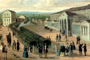 Ezen a napon nyílt meg az ország első vasútvonala