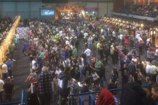 Elképesztően nagy darts verseny volt tegnap az Érd Arénában, kicsit meg is lepte a szervezőket!