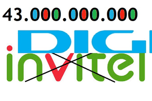 43.000.000.000: A Digi teljesen bekebelezi az Invitel lakossági és kisvállalati üzletágát