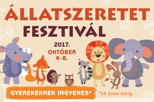 Az Állatok világnapjától, 5 napon át, Állatszeretet Fesztivál, gyerekeknek ingyenes