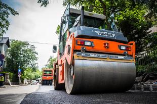 KÁNAÁN: Újabb  közlekedésfejlesztési beruházások indulnak be Érden