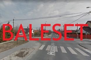 BALESET DIÓSDON! Kisteherautó és személygépkocsi ütközött össze