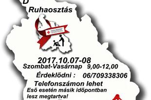 Ruhaosztás Érden: két tonnányi adományt oszt szét a Vöröskereszt