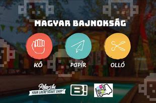 ÉRDI MERÉSZEK: Menjetek kő-papír-olló bajnokságra