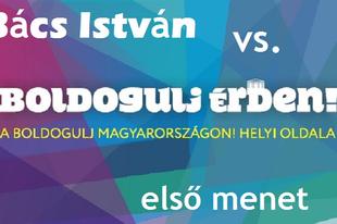 Bács vs. Boldogulj Érden első találkozó zajlott a bíróságon MA!