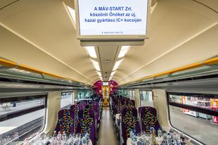 Jönnek az új IC-vasúti kocsik: 200 kilométer per órával is repeszthetnének