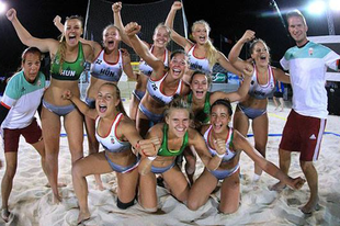 Érdi lányainkkal világbajnokok az U17-esek a strandkézi világbajnokságon!