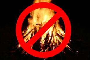 NEHOGY LEÉGJEN, MERT NEM TUDJA: Érden is tűzgyújtási tilalmat rendeltek el