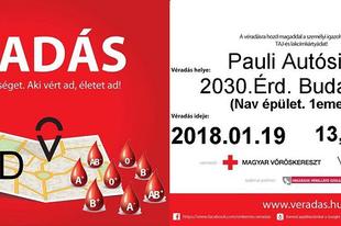 Adj vért MA Érden és életeket mentesz!
