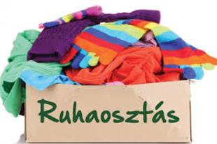 HOLNAP RUHAOSZTÁS ÉRDEN! Segítség a helyi Vöröskereszt irodától iskolakezdésre