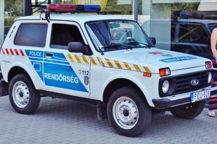 Ez igen! Érden újra van Ladája a magyar rendőrségnek