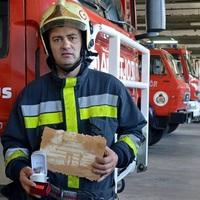 Kitüntették az életet mentő győri szabadnapos tűzoltót