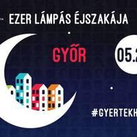Vasárnap lesz az Ezer lámpás éjszakája városunkban is