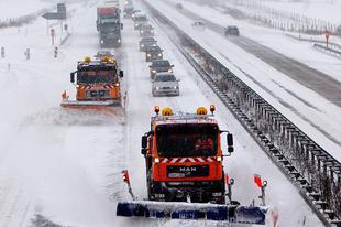Elsőfokú riasztások a hófúvás veszélye miatt a megyénkben is